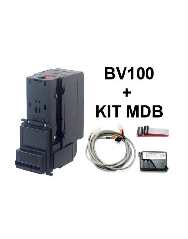 kit MDB + MDV - Aceitador de notas SAM7 bv 100