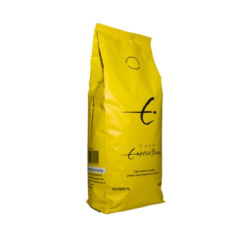 Café Empório Brasil Italian Blend em grãos Amarelo